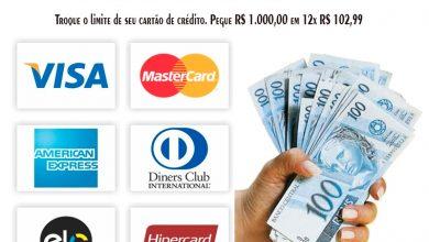 Empréstimos no cartão de crédito